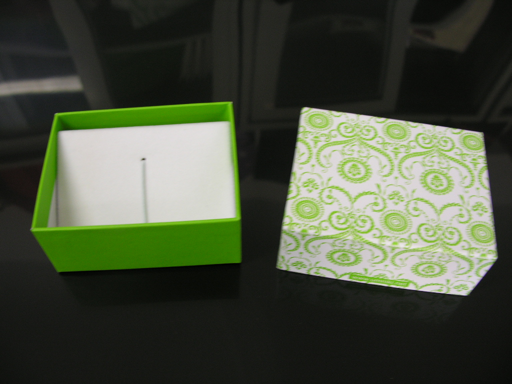 Подарочная коробочка под флешку